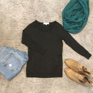 LOFT black cute and comfy sweater.